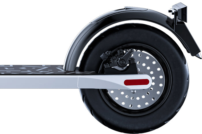 JIVR Electric Scooter Three Brake System