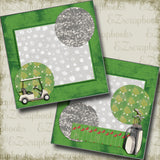 Golf Game NPM 5143 - EZscrapbooks Scrapbook Layouts Golf, Sports