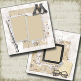 Ministry of Magic - 4994 - EZscrapbooks Scrapbook Layouts Harry Potter
