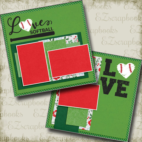 Love Softball - 4964