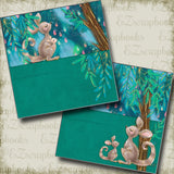 Kangaroo Mama NPM - 5029 - EZscrapbooks Scrapbook Layouts Baby, Baby / Bridal Shower, Pregnancy