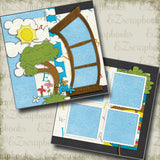 ABC's - 4984 - EZscrapbooks Scrapbook Layouts back to school, School