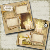 Wizarding Candles - 5206 - EZscrapbooks Scrapbook Layouts Halloween, Harry Potter