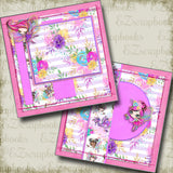 Fairy Princesses NPM - 5041 - EZscrapbooks Scrapbook Layouts Girls, Other