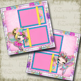 Pretty Pixies - 5052 - EZscrapbooks Scrapbook Layouts Girls, Other