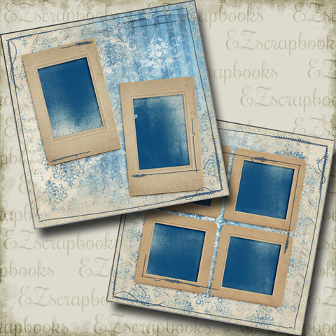 Distressed Blue - 5296