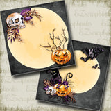 Creatures of Halloween NPM - 5003 - EZscrapbooks Scrapbook Layouts Halloween