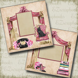 So Fancy - 5032 - EZscrapbooks Scrapbook Layouts Girls, Other