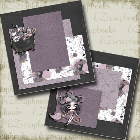 Cute Gothic Witch NPM - 5013