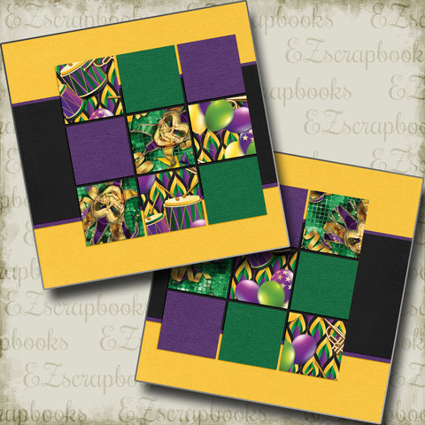 Purple Green & Gold NPM - 5319
