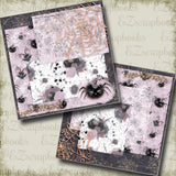 Miss Spider NPM - 4997 - EZscrapbooks Scrapbook Layouts Halloween