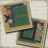 You're On My Wishlist - 5190 - EZscrapbooks Scrapbook Layouts Christmas, Snow, Winter