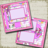 Fairy Princesses - 5040 - EZscrapbooks Scrapbook Layouts Girls, Other