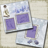 Winter Days - 5284 - EZscrapbooks Scrapbook Layouts Snow, Winter