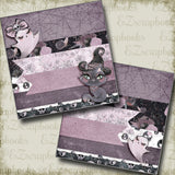 BOO-tiful Friends NPM - 4999 - EZscrapbooks Scrapbook Layouts Halloween