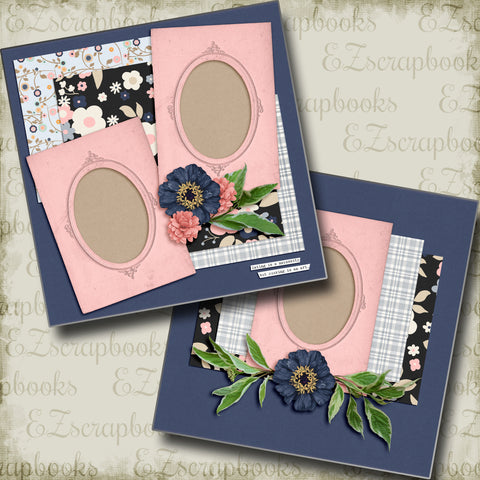 Cooking is an Art - 5234 - EZscrapbooks Scrapbook Layouts Foods