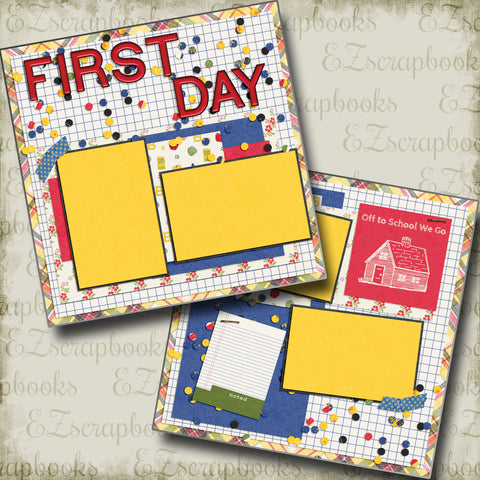 First Day - School - 4986