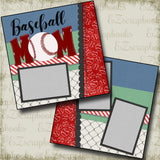 Baseball Mom - 4816 - EZscrapbooks Scrapbook Layouts baseball, Sports