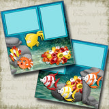 Under the Sea - 3962 - EZscrapbooks Scrapbook Layouts Beach - Tropical, Summer, Swimming - Pool