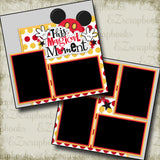 This Magical Moment Red - 2233 - EZscrapbooks Scrapbook Layouts Disney