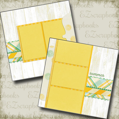 Summer - 4898 - EZscrapbooks Scrapbook Layouts Beach - Tropical, Summer, Swimming - Pool