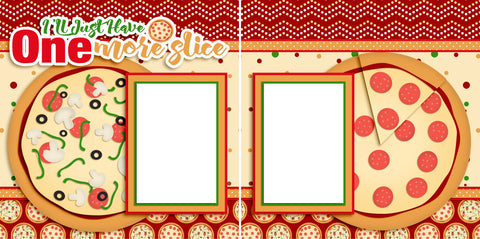 One More Slice - Digital Scrapbook Pages - INSTANT DOWNLOAD