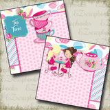 Tea Time NPM - 2750 - EZscrapbooks Scrapbook Layouts Baby - Toddler, Girls
