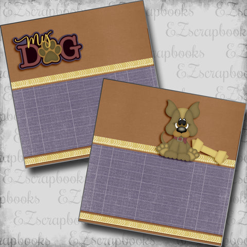 My Dog NPM - 5369 - EZscrapbooks Scrapbook Layouts dogs, Pets