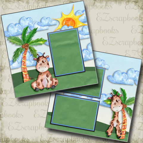 Summer Cutie - 4862 - EZscrapbooks Scrapbook Layouts Beach - Tropical, Swimming - Pool