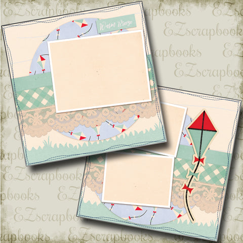 Warm Breeze - 4754 - EZscrapbooks Scrapbook Layouts Beach - Tropical, Other, Vacation