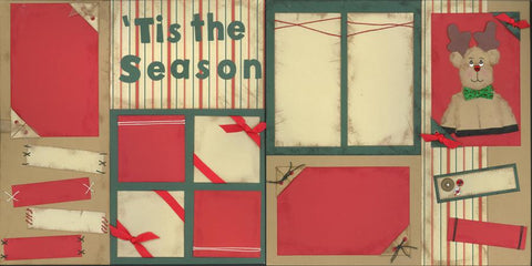 Tis the Season - 76 - EZscrapbooks Scrapbook Layouts Christmas