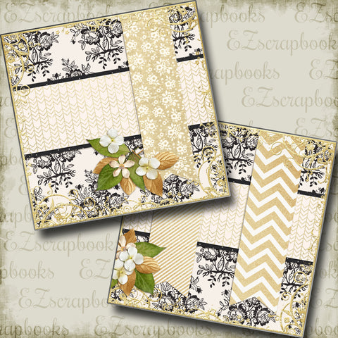 The Wedding Eight NPM - 5129 - EZscrapbooks Scrapbook Layouts Other, Prom, Wedding