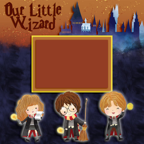 Our Little Wizard Wall-Art - 8064