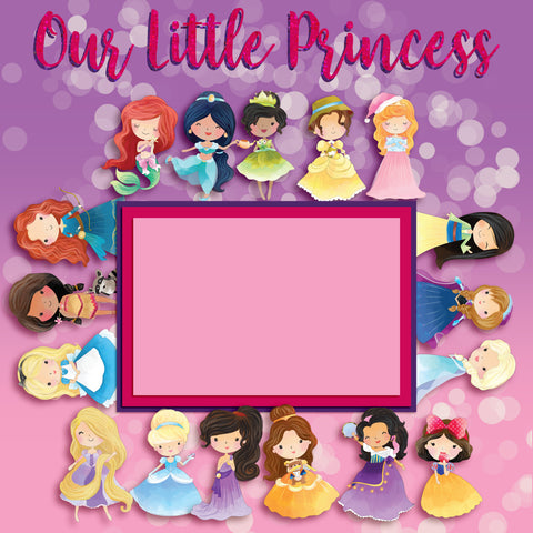 Our Little Princess Wall-Art - 8065