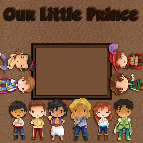 Our Little Prince Wall-Art - 8066