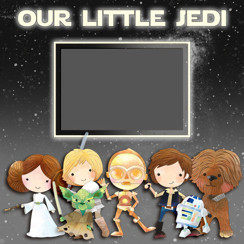 Our Little Jedi Wall-Art - 8067