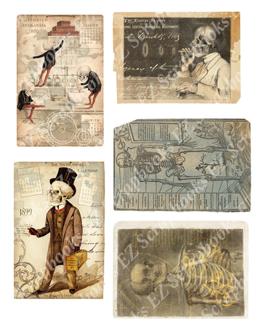 Steampunk Halloween Embellishments 1 - 9481 - EZscrapbooks Scrapbook Layouts Halloween, Steampunk