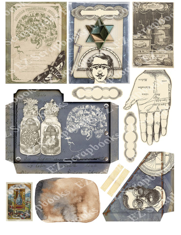 Alchemy Embellishments 2 - 9502 - EZscrapbooks Scrapbook Layouts alchemy