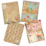 Majestic Mushrooms Paper Pack - 7259 - EZscrapbooks Scrapbook Layouts Journals