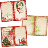 Vintage Christmas Journal Kit - 7134