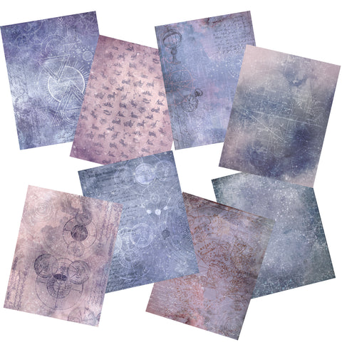 Celestial Paper Pack - 7270 - EZscrapbooks Scrapbook Layouts Journals