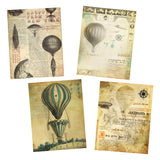 Vintage Air Balloons Journal Paper Pack - 7132