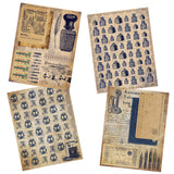 Vintage Office Paper Pack - 7249 - EZscrapbooks Scrapbook Layouts Journals