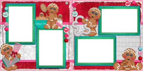 Baking up Memories - Digital Scrapbook Pages - INSTANT DOWNLOAD