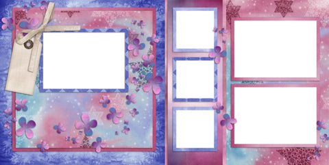 Bliss - Digital Scrapbook Pages - INSTANT DOWNLOAD