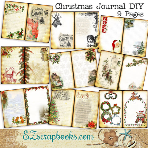 Christmas Journal DIY Kit - 7003