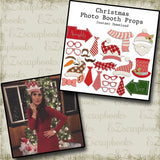 Christmas Photo Booth Props - INSTANT DOWNLOAD