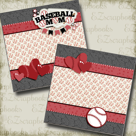 Baseball Mom Red NPM - 3247