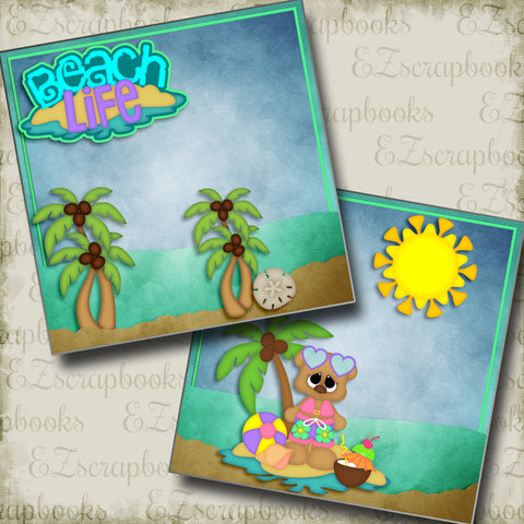 Beach Life Girl NPM - 2991