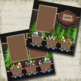 Mine Train - 2915 - EZscrapbooks Scrapbook Layouts Disney